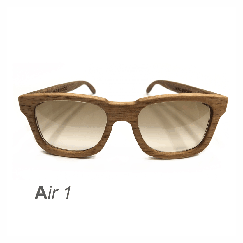 Wooden Sunglasses - Air 1