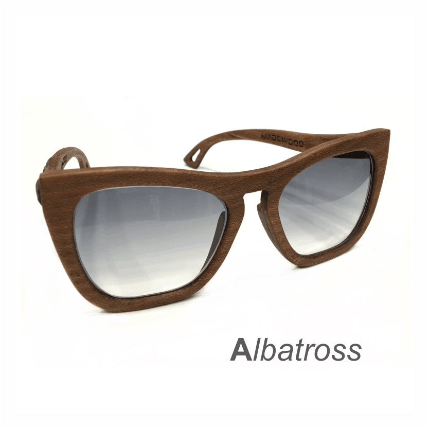 Wooden Sunglasses - Albatross