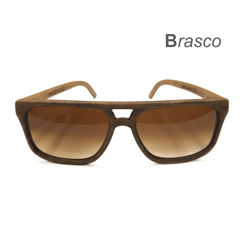 Wooden Sunglasses - Brasco