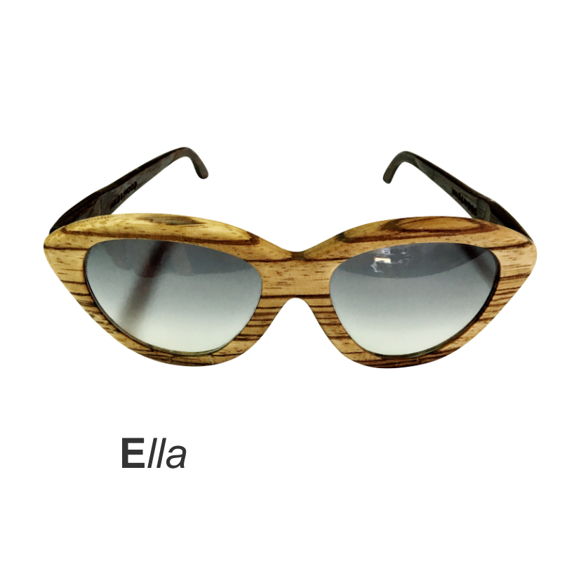 Wooden Sunglasses - Ella