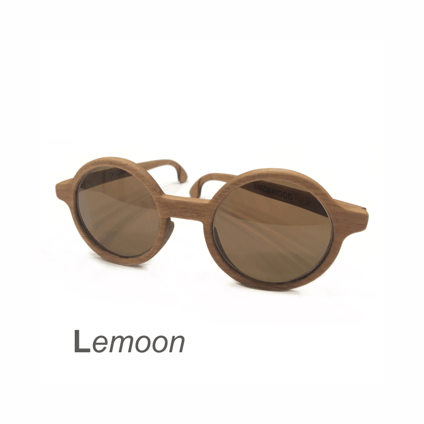 Wooden Sunglasses - Lemoon