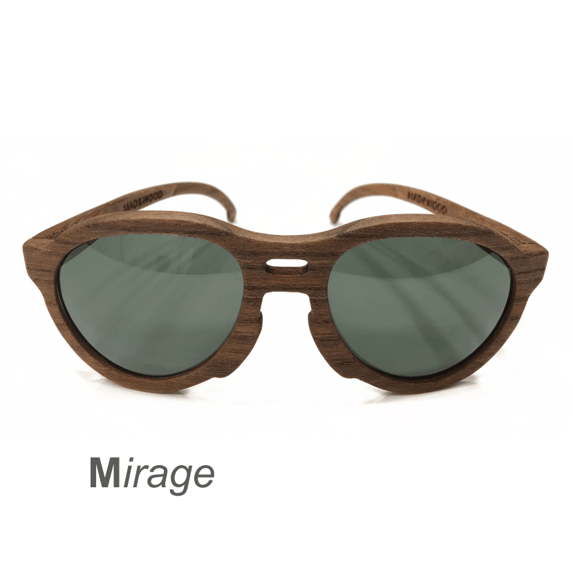 Wooden Sunglasses - Mirage
