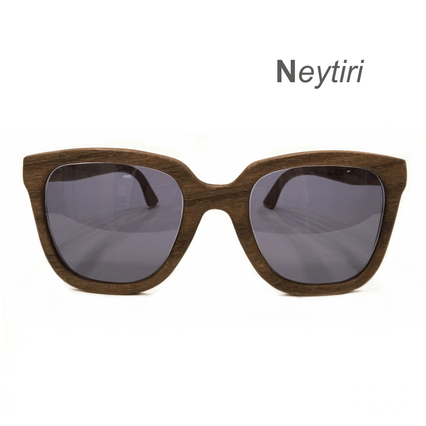 Wooden Sunglasses - Neytiri