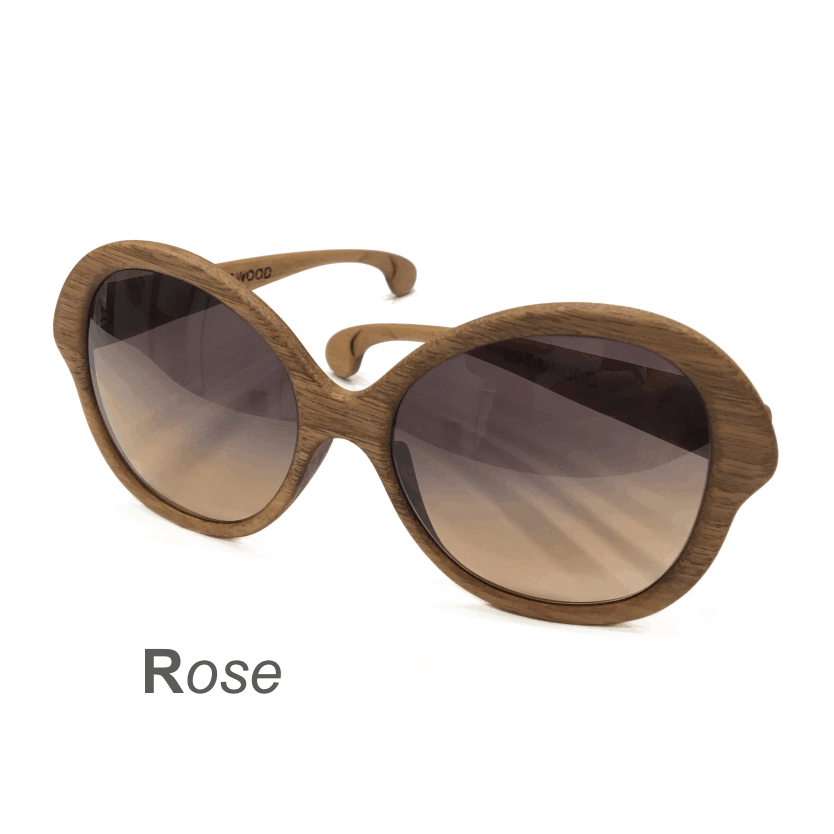 Wooden Sunglasses - Rose
