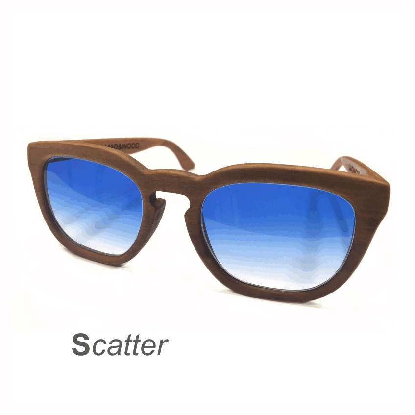 Wooden Sunglasses - Scatter