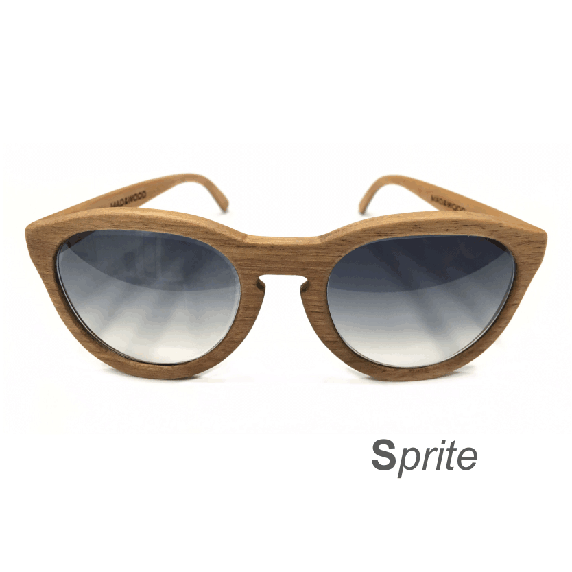 Wooden Sunglasses - Sprite