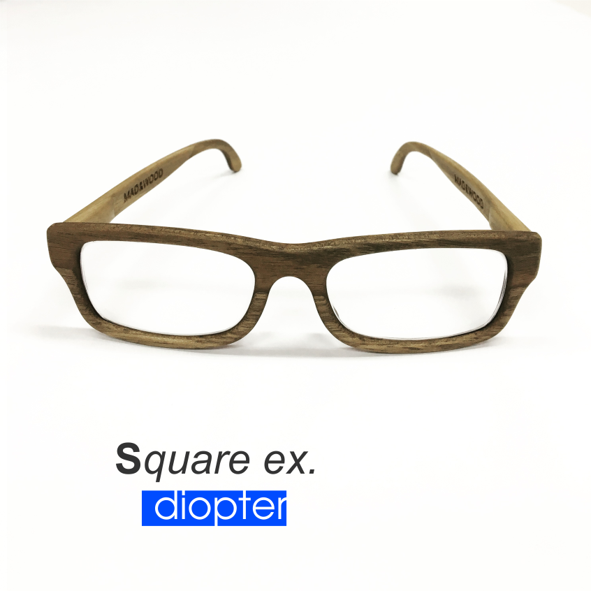 Prescription glasses - Square Ex