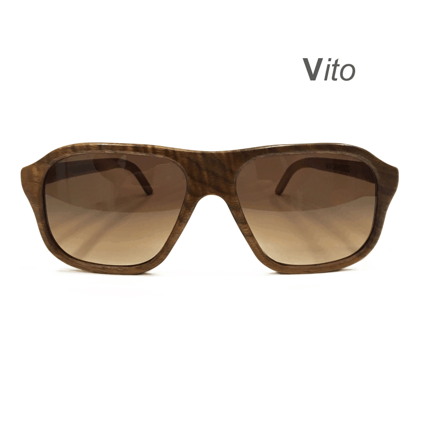 Wooden Sunglasses - Vito